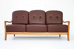 Wahnsinn wie neu 1970s komfort denmark lounge sofa chair for Ecksofa nordisch