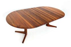 Glostrup Danish Teak Dining Table