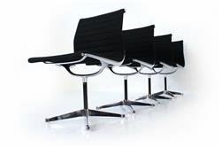 Set of 4 Herman Miller / Vitra Eames Alu Chair EA 101
